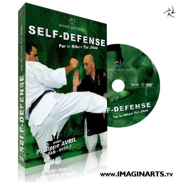 dvd self defense par p avril. Black Bedroom Furniture Sets. Home Design Ideas